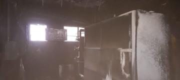 Incêndio é registrado na sede da Justiça Federal em Uberlândia