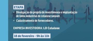 LD Celulose e FIEMG realizam evento de apresentação de negócios