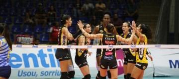 Praia Clube bate Universidad Católica e estreia com vitória no Sul-americano feminino