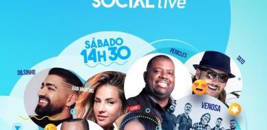 Social Live: Com nomes da música local e nacional, TV Integração realiza primeira 'live' solidária