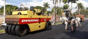 Prefeitura executa recapeamento em 260 km de vias