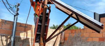 Cemig oferece treinamento gratuito sobre instalação e manutenção de sistemas de aquecimento solar em Uberlândia