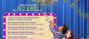 Escola Municipal Cidade de Música em Uberlândia abre inscrições