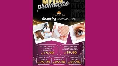 MEGA PROMOÇÃO  SHOPPING GABY MARTINS  - O Shopping da Mulher Poderosa!